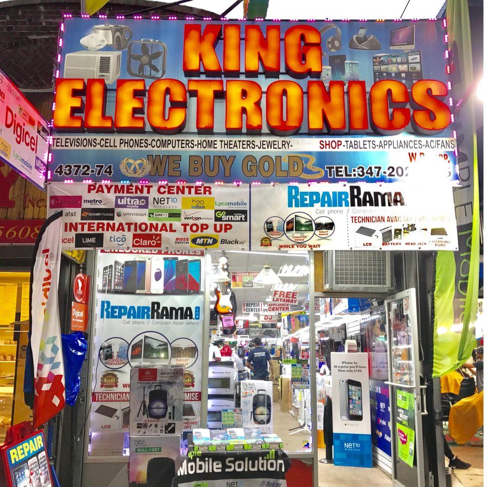King ELectronics wp: 4374 White Plains Rd, New York, NY