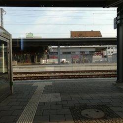 Schweinfurt Hauptbahnhof - Train Stations - Hauptbahnhofstr