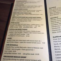 Photos for Luna Modern Mexican Kitchen | Menu - Yelp