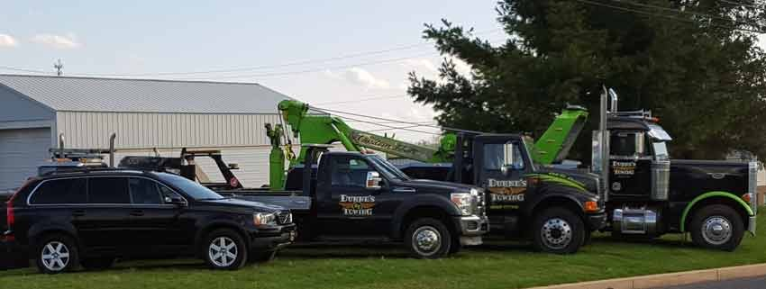 Dunne's Towing: 684 Forman Rd, Souderton, PA