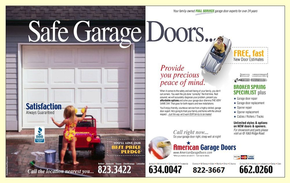 American Garage Doors Garage Door Services 1063 Ridge Rd
