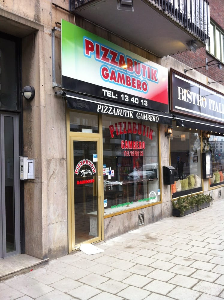 Gambero Pizzabutik