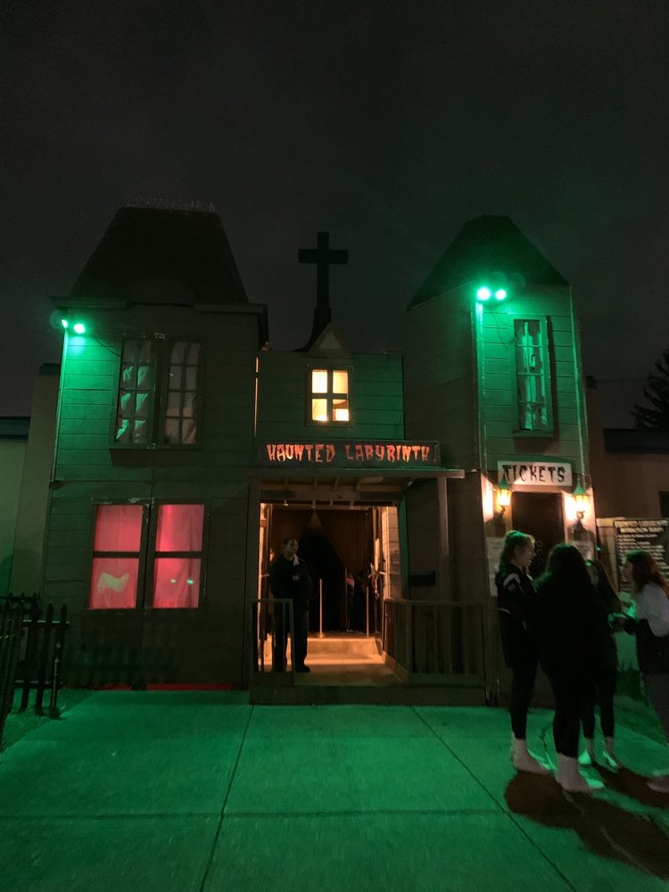 Haunted Labyrinth: 804 Dyer Ave, Cranston, RI