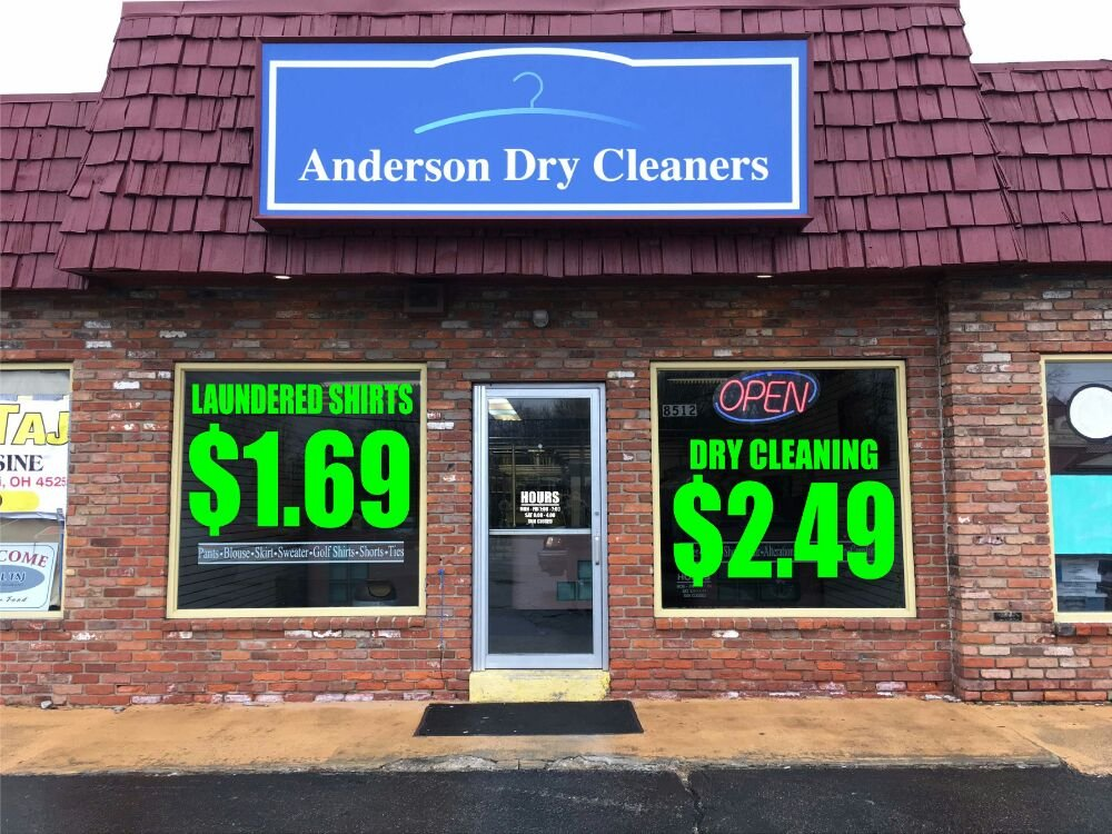 Anderson Dry Cleaners: 8512 Beechmont Ave, Cincinnati, OH