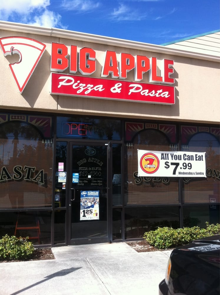 Big Apple Pizza Vero Beach Fl