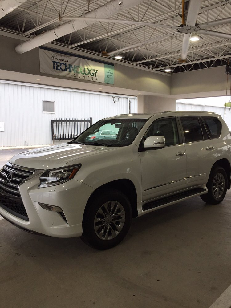 lexus gx 460 luxury model purchased from lexus of jacksonville