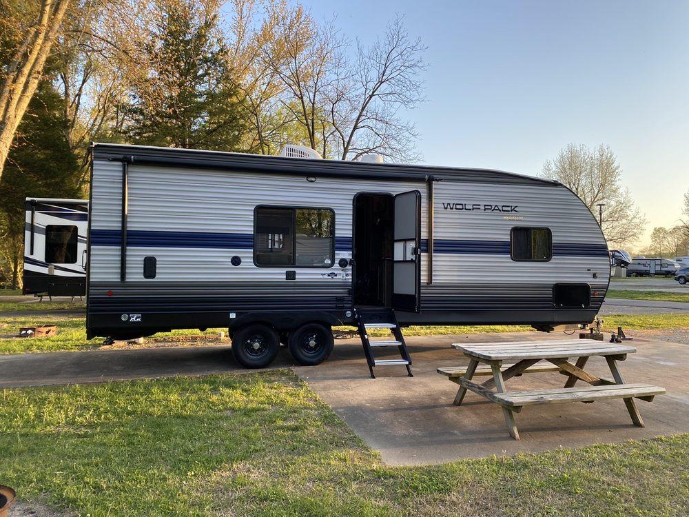 The Landing Point Rv Park: 3020 Boutin Drive Rte W, Cape Girardeau, MO