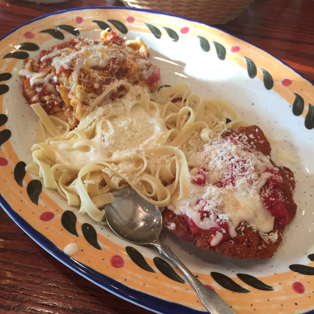 Tour of Italy- spaghetti with meat sauce, tortellini al forno and ...