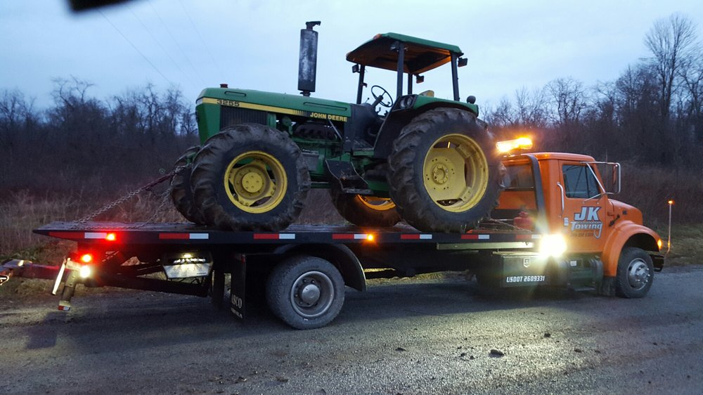 JK Towing & Hauling: West Newton, PA