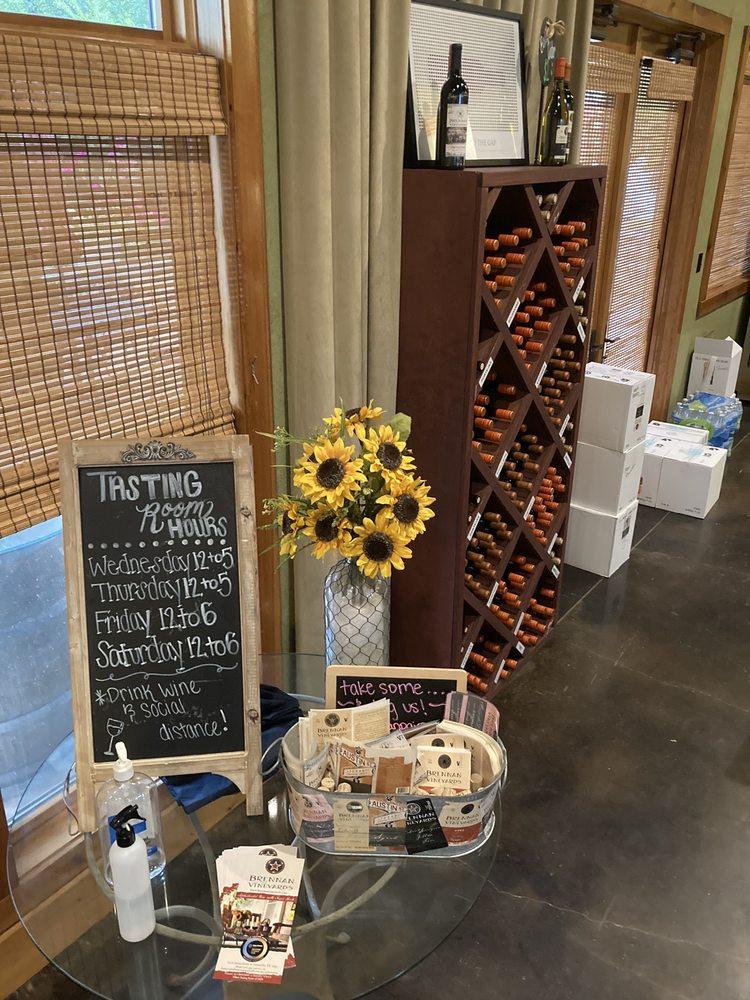 Brennan Vineyards: 802 S Austin St, Comanche, TX