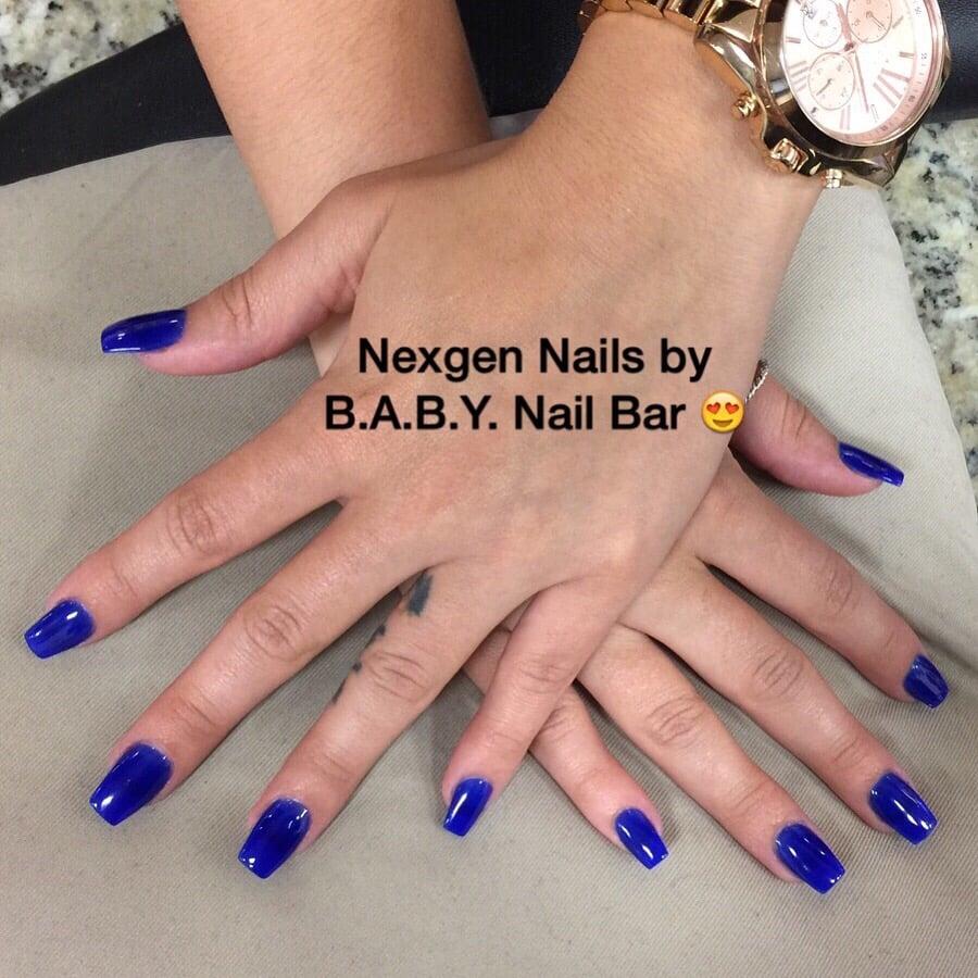Nexgen Nails in blue powder - Yelp