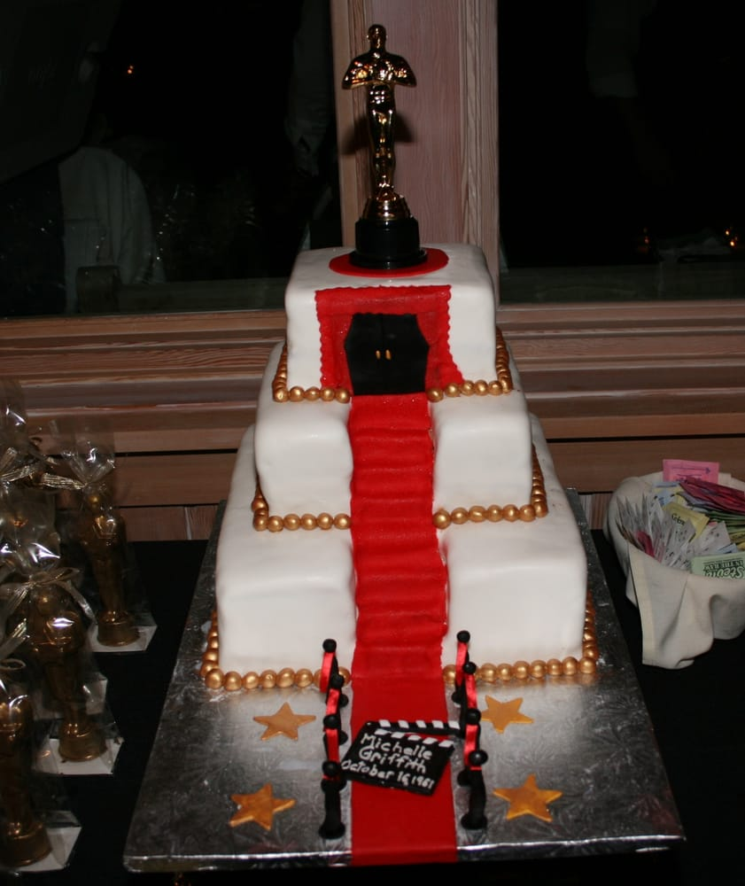 Red Carpet Cake Ideas