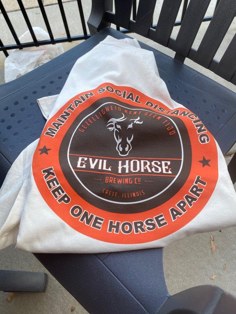 Evil Horse Brewing Company: 1338 Main St, Crete, IL