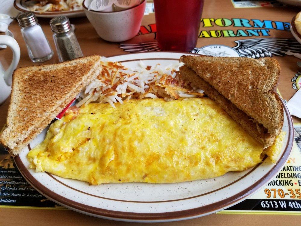 Barnstormer Restaurant: 600 Airport Rd, Greeley, CO