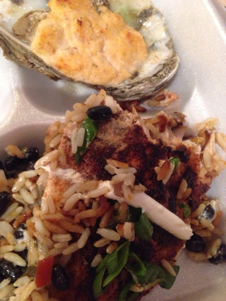 My to go delish yelp for Cedar reef fish camp menu