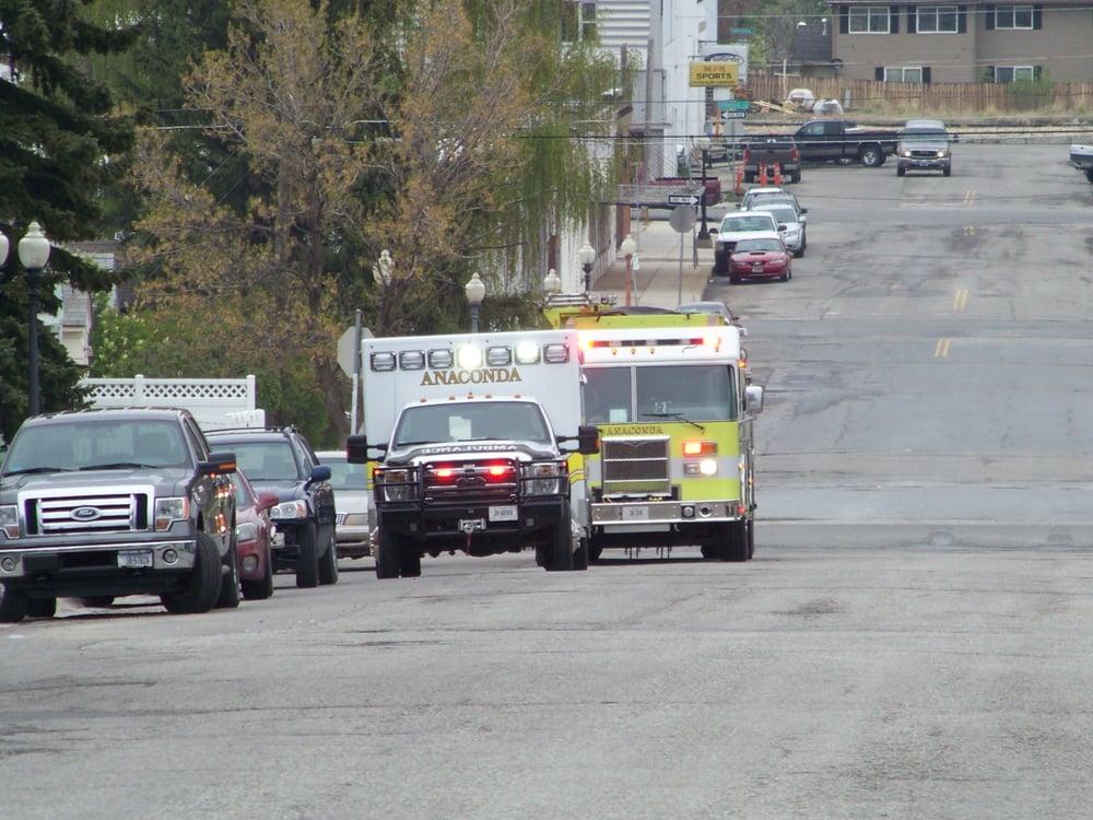 Anaconda Fire Department: 420 E Commercial Ave, Anaconda, MT