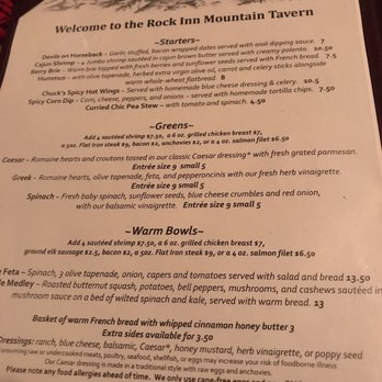 Photo Of Rock Inn Mountain Tavern