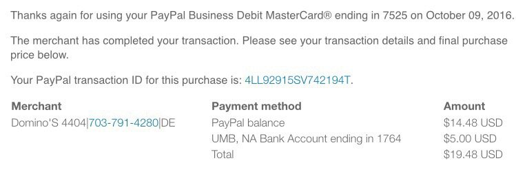 This Is The Transaction Via Paypal See The Difference In Tips