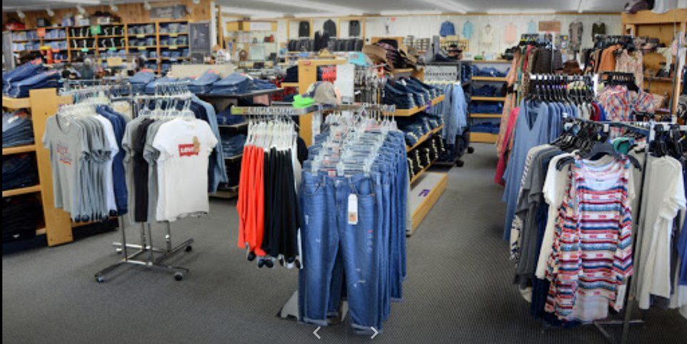 Ward's Apparel: 1 Moore St, Mooresville, IN