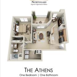 photo of century northlake apartments charlotte nc united states - One Bedroom Apartments Charlotte Nc