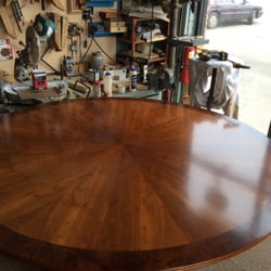 Photo Of Murphyu0027s Refinishing   Salem, MA, United States. Walnut Dinning  Table