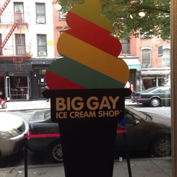 Big gay ice cream store