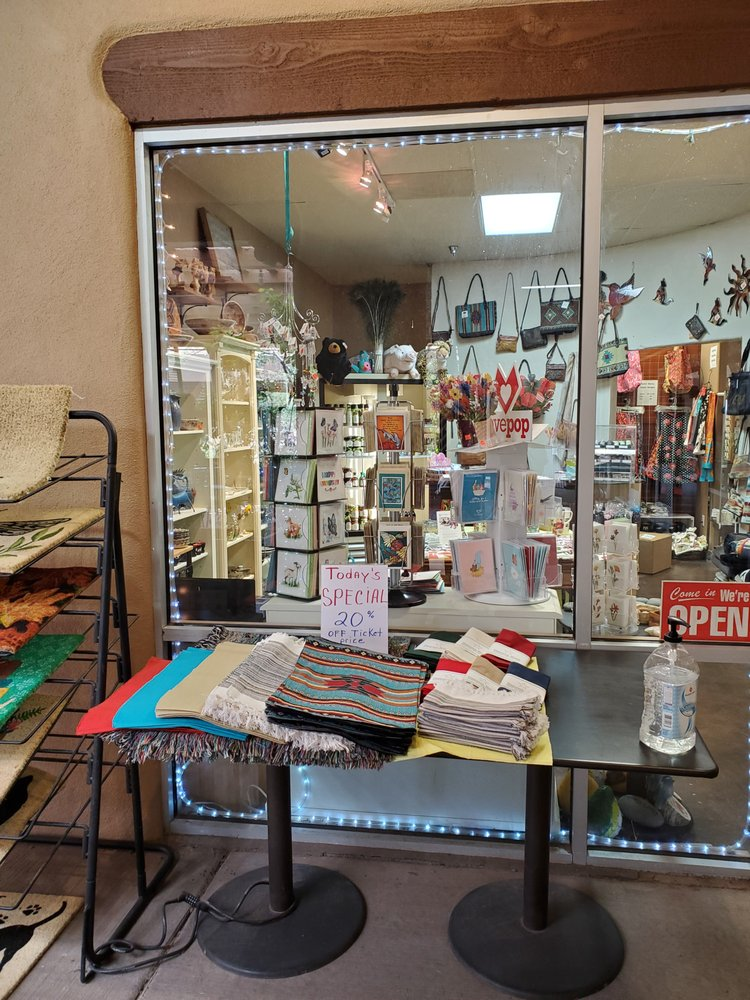 Enchanted Leaf Gift Shop: 7 Avenida Vista Grande, Santa Fe, NM