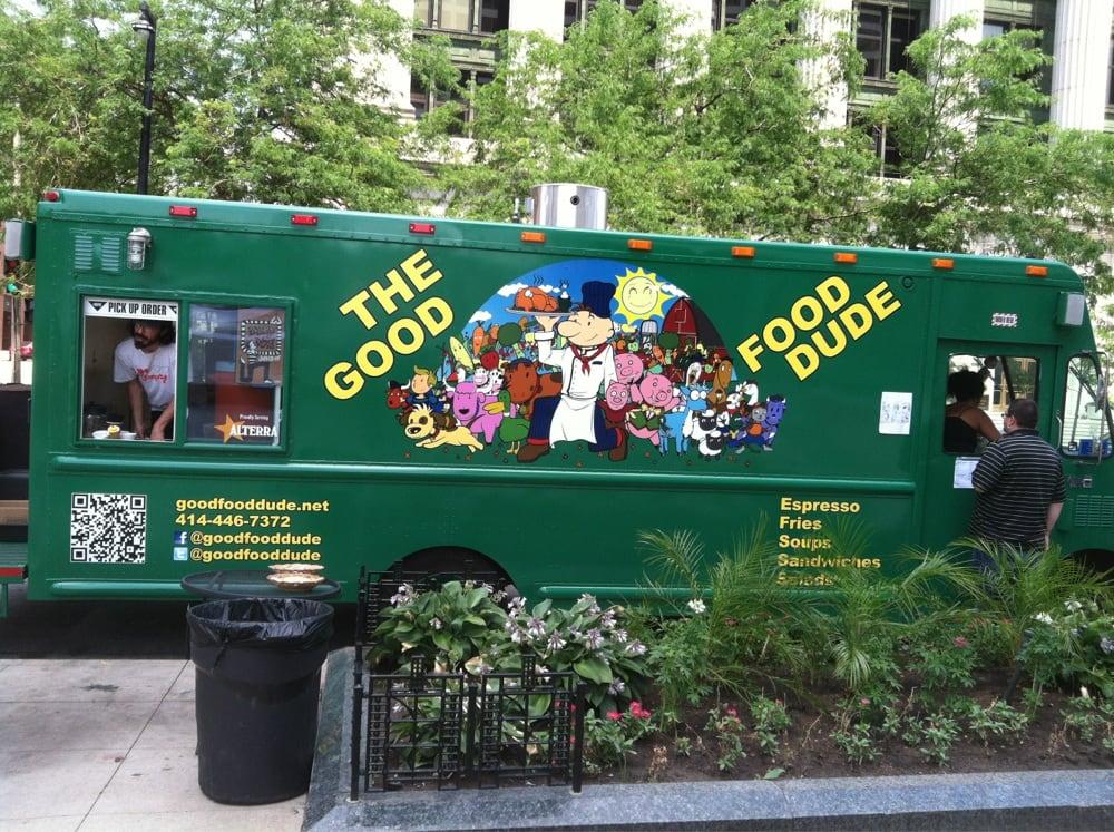 The Good Food Dude: 600-698 N Van Buren St, Milwaukee, WI