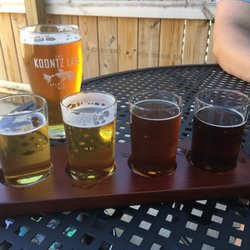 Photo of Koontz Lake Brewing Co. - Walkerton, IN, United States. Flights