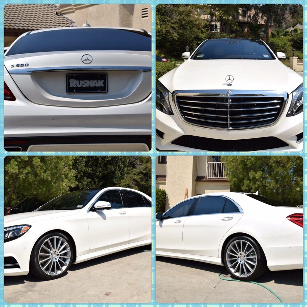 Premium wash for mercedes benz s550 to make t looks for Mercedes benz of calabasas staff