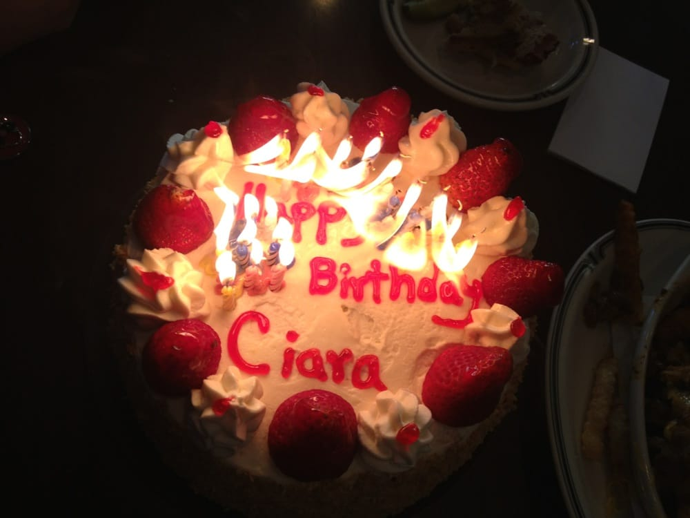 Happy Birthday Ciara Yelp