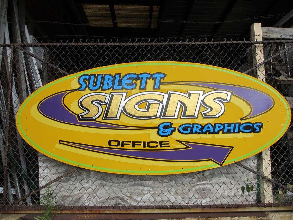 Sublett Signs & Graphics