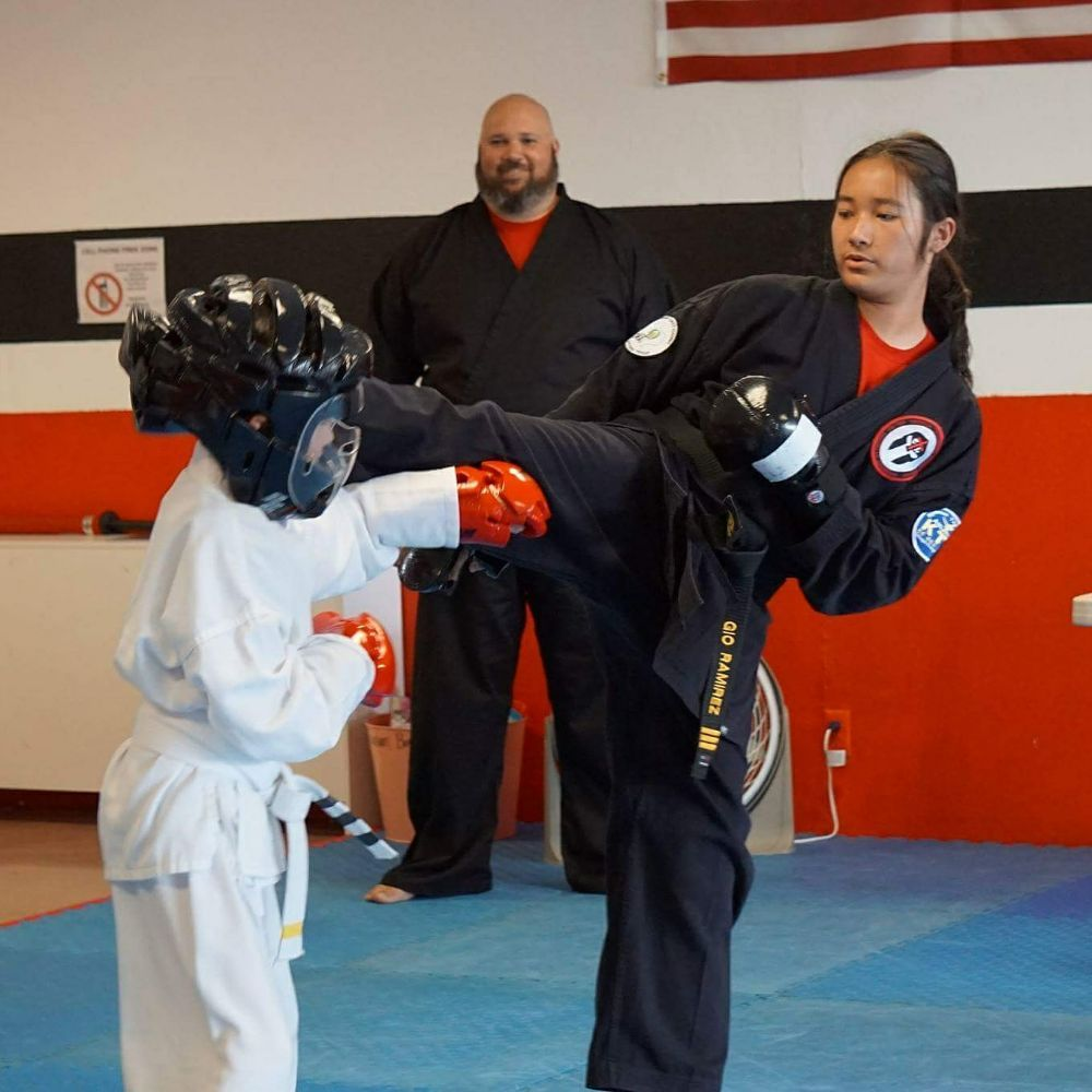 Mr Gio Ctl Instructor At The Peace Keepers Karate