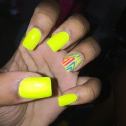 A real large dong nail