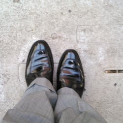 Photo Of Glassman Shoe Shine Philadelphia Pa United States He Does Great