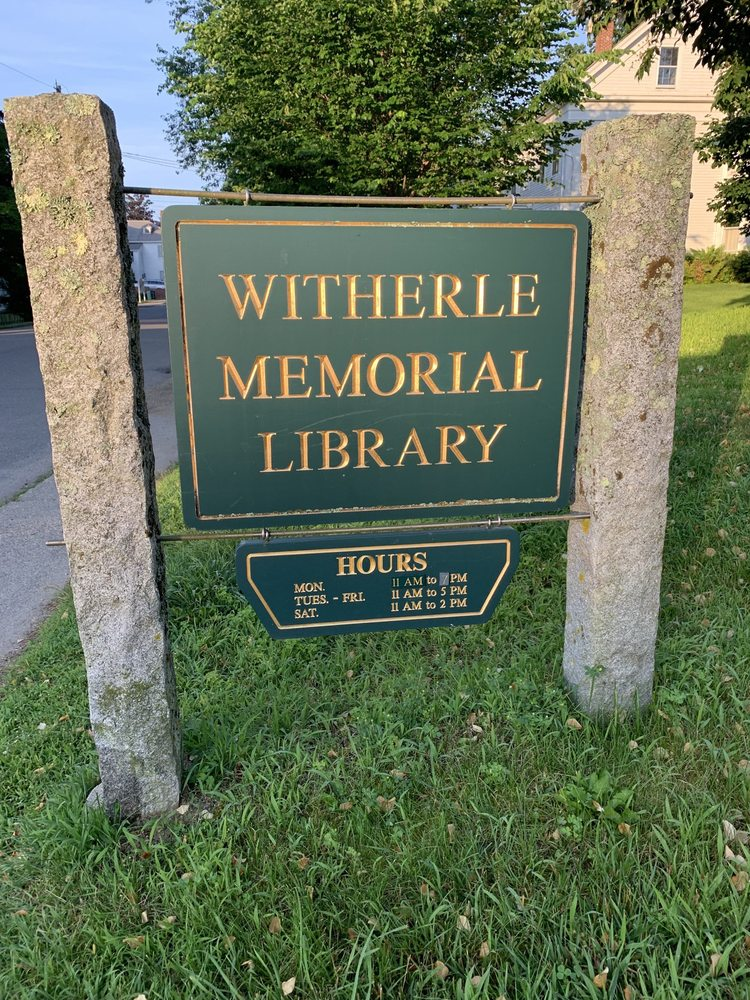 Witherle Memorial Library: 41 School St, Castine, ME