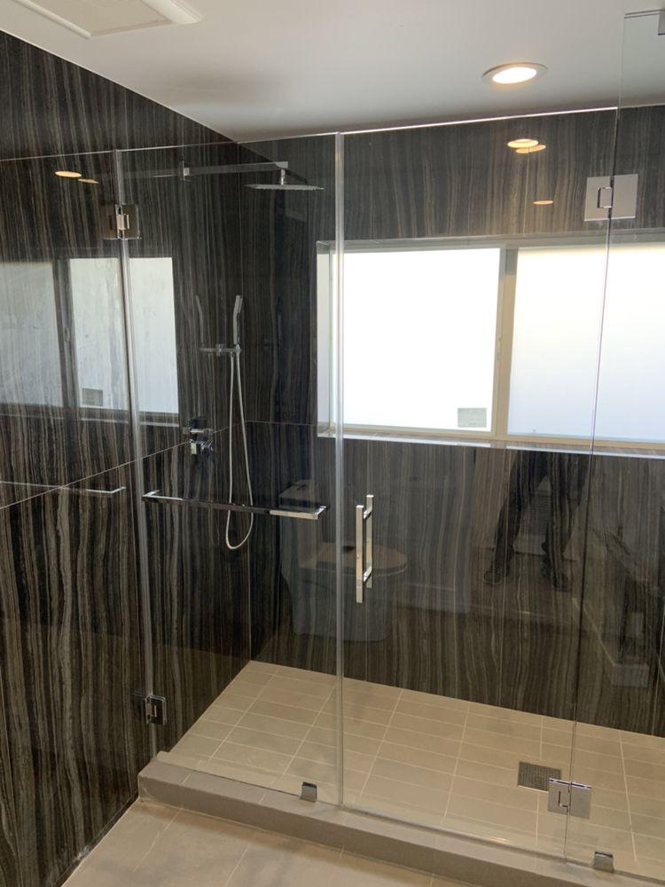 RF Shower Door Glass & Mirror