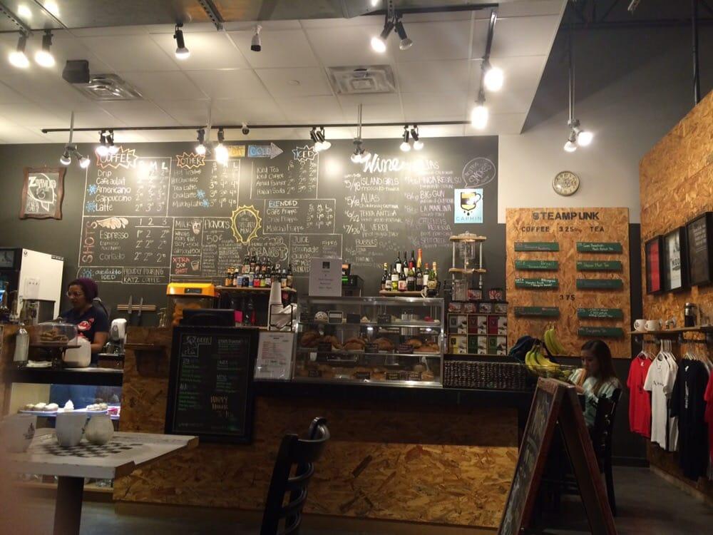 Crescent Moon Coffee Bar Cafe Houston Tx