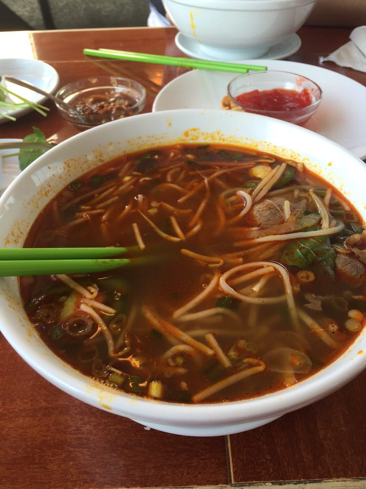 ... of Pho 54 - Indianapolis, IN, United States. Hue beef noodle soup