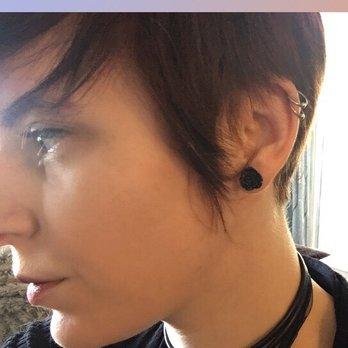 5109bb1934879 Photo of Psycho Tattoo - Marietta, GA, United States. Double Helix piercing