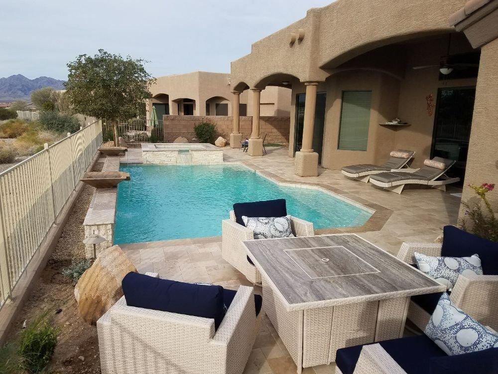 Edgewater Pools: 2540 Caribbean Dr, Lake Havasu City, AZ
