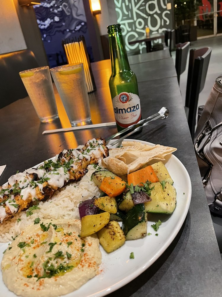 Flames Mediterranean Bar & Grille: 1270 N Wickham Rd, Melbourne, FL