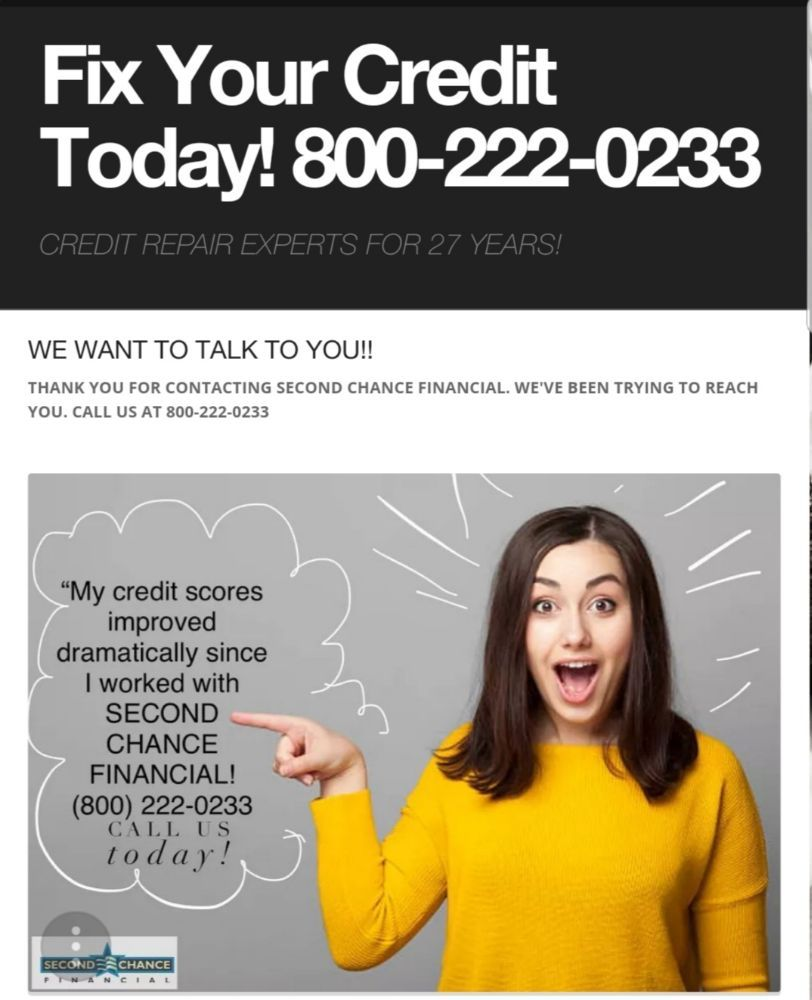 Second Chance Financial