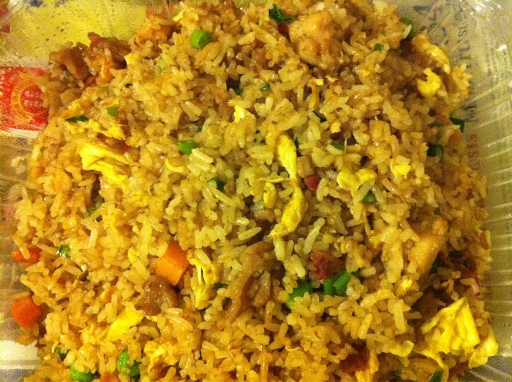 ... States. House special fried rice (chicken, beef, pork, and shrimp