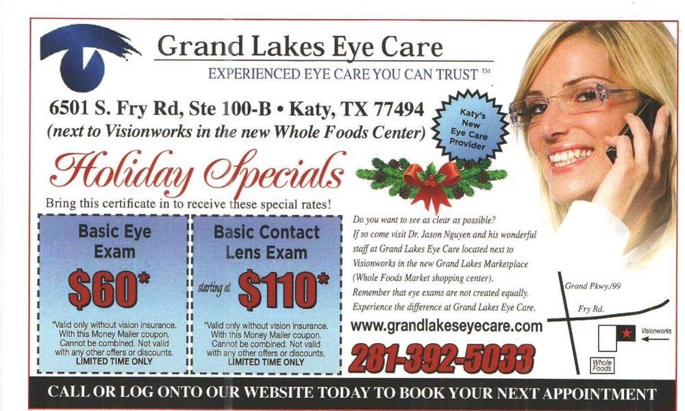 Grand Lakes Eye Care: 6501 S Fry Rd, Katy, TX