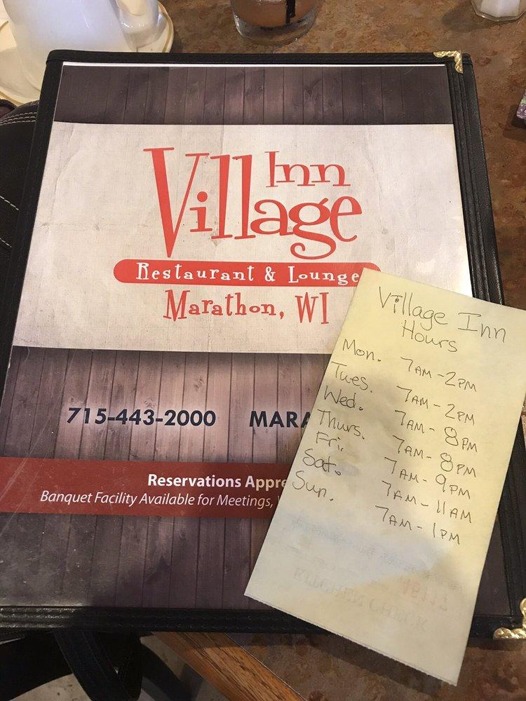 Village Inn: 304 Main St, Marathon, WI