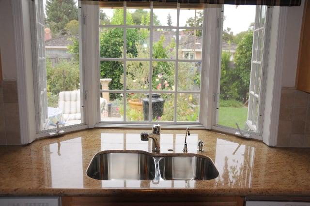 kitchen counter window. Photo Of Artistic Stone Kitchen \u0026 Bath - Mountain View, CA, United States. Counter Window H