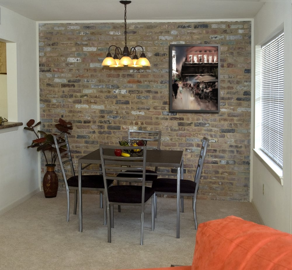 Stone Accent Wall With Glitter Brick: Brick Accent Walls