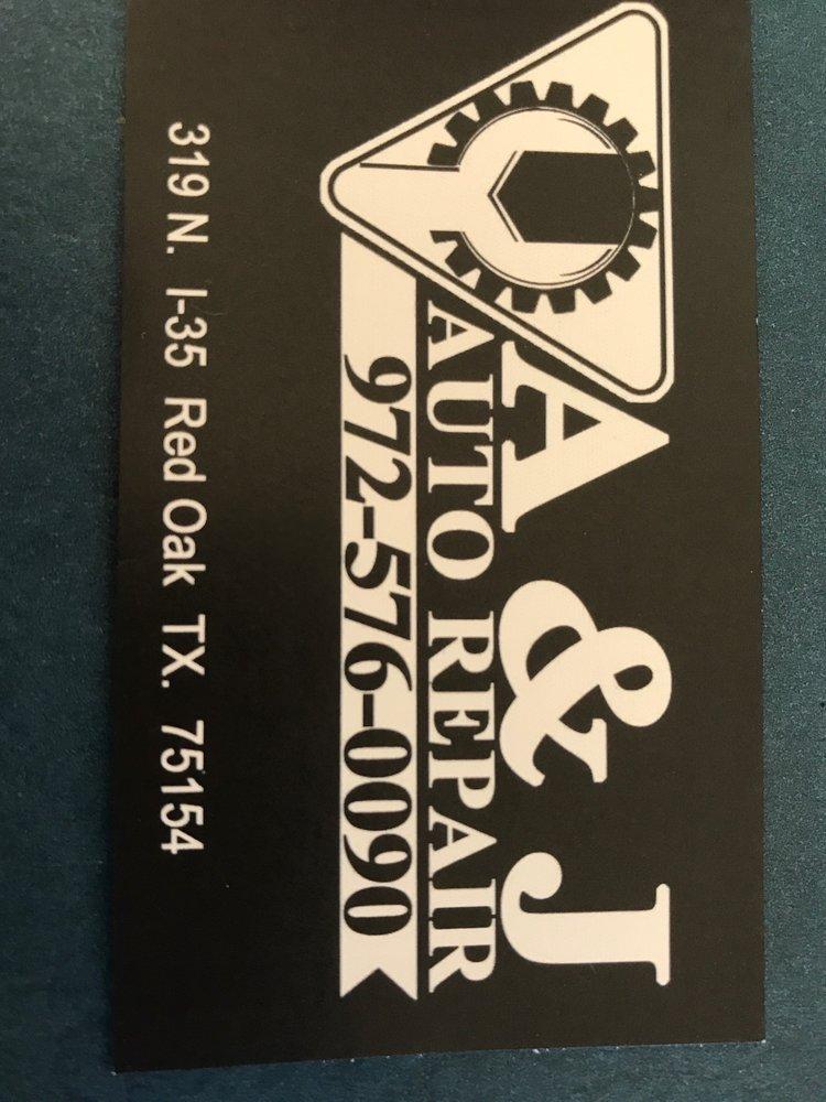 A & J Auto Repair: 319 N Interstate 35 Rd, Red Oak, TX