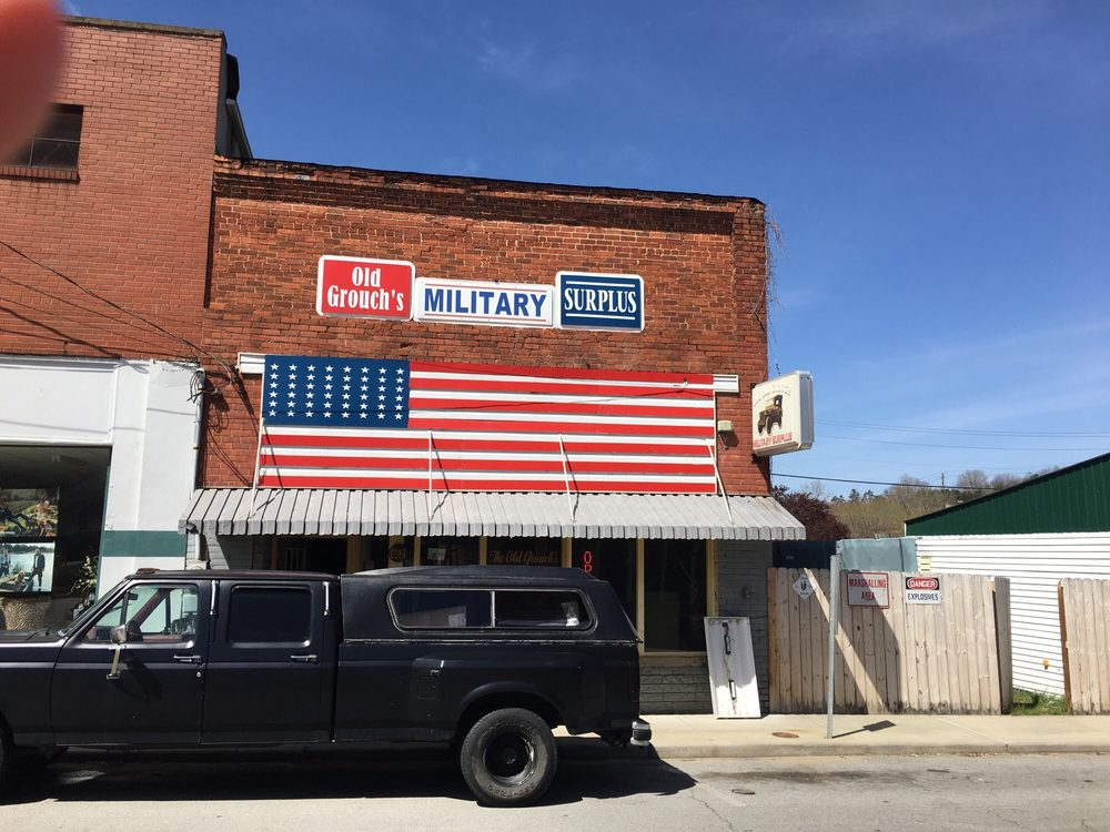 Old Grouch's Military Surplus: 82 Main St, Clyde, NC